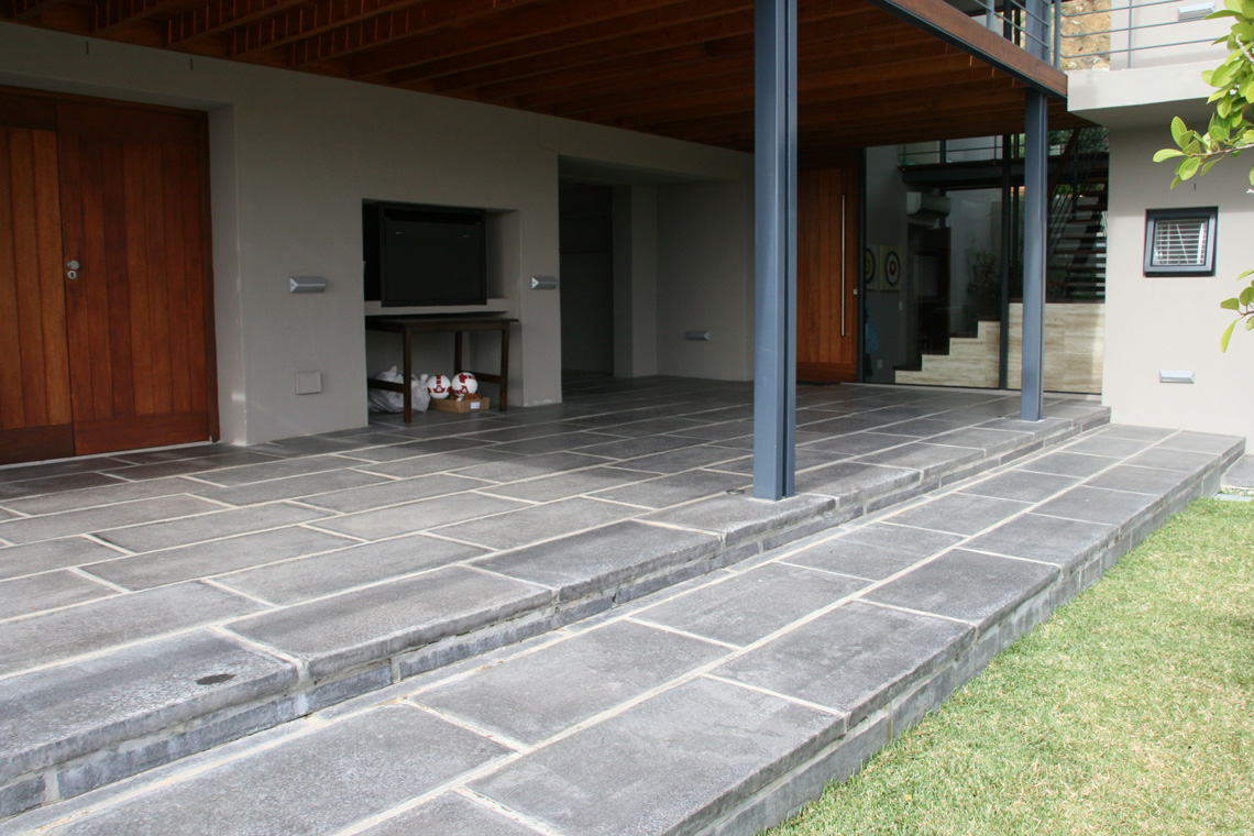 SEALING OF TILES & PAVERS OUTDOOR