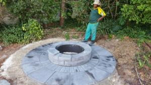 Jura fire pit step 4