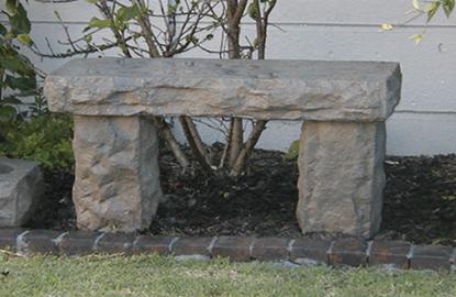 Viking Bench & Bird Bath